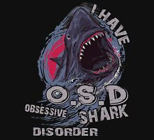 Sharks - I have obsessive shark disorder OSD T-shirt Womens Fitted T-Shirt