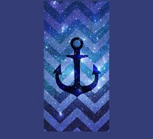 Anchor Chevron Nebula Unisex T-Shirt