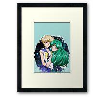 Haruka and Michiru (SMC III) Framed Print