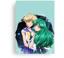 Haruka and Michiru (SMC III) Canvas Print