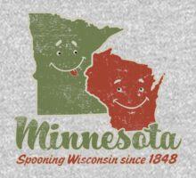Minnesota Spooning Wisconsin by OfficeGangsta