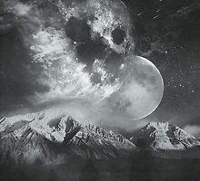 Stellar Ghosts Monochrome by Daniel Watts