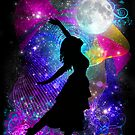 Moonlight Ritual Star Dancer  by Leah McNeir