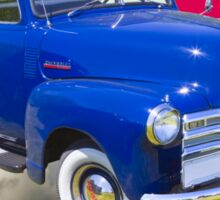 1947 Chevrolet Thriftmaster Pickup And American Flag Sticker