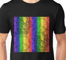 Colorburst Monkees Unisex T-Shirt