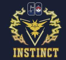 Go, Instinct! One Piece - Short Sleeve