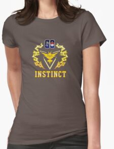 Go, Instinct! Womens Fitted T-Shirt