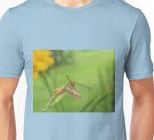 Dragon Fly Catching A Breeze             Pentax X-5 Series 16 mp Unisex T-Shirt