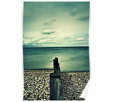 Whitstable Beach Poster
