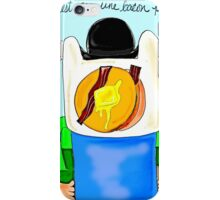 Son of Finn / Magritte Meets Adventure Time  iPhone Case/Skin