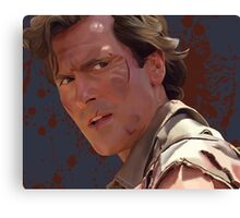Groovy Ash - Army of Darkness Canvas Print