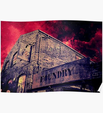 Foundry, Canterbury Poster