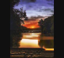 Sunset On The Dam Unisex T-Shirt