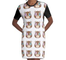 Kanye Graphic T-Shirt Dress