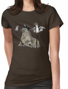 Pirate Womens Fitted T-Shirt