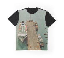 Long Boat Dock Graphic T-Shirt