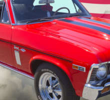1969 Chevrolet Nova Yenko 427 With American Flag Sticker