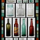 Old Glass Bottle Collection by perkinsdesigns