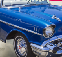 1957 Chevrolet Bel Air With American Flag Sticker