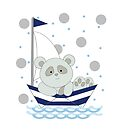 panda boat ride by Michelle *