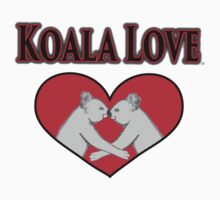 Koala Love  One Piece - Short Sleeve