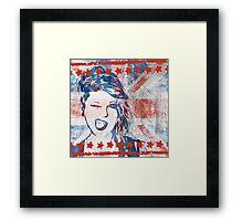 Punk Girl Framed Print