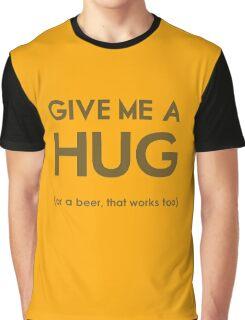Beer Hug Graphic T-Shirt
