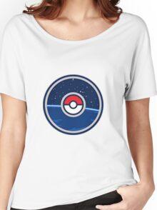 """POKEMON GO: """"GO"""" pokemon go logo! v1.2 Women's Relaxed Fit T-Shirt"""