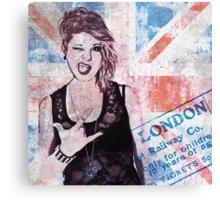 Punk Girl II Canvas Print