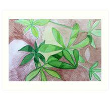 Alpine Lupin in the California Sierra Art Print