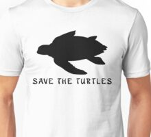 Save the Turtles! Sea Turtle   Unisex T-Shirt