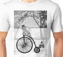 Steampunk Cat and Mouse Unisex T-Shirt