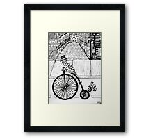 Steampunk Cat and Mouse Framed Print