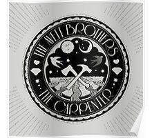 the carpenter - the avett brothers album logo cover Poster