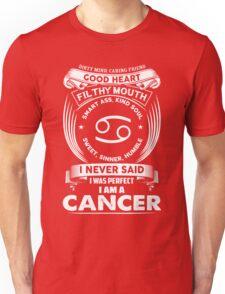 cancer horoscope T-shirt Unisex T-Shirt