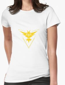Pokemon Go: Team Instinct! Womens Fitted T-Shirt