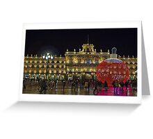 Plaza Mayor, Salamanca. Spain Greeting Card