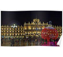 Plaza Mayor, Salamanca. Spain Poster