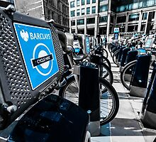 Boris Bike London Spitalfields by nigelwatkins