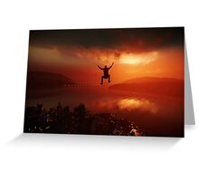 Infamous: Second Son Greeting Card