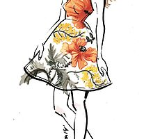 The Little Floral Dress by Marta Efremova