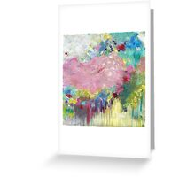 Mk abstract 3 Greeting Card