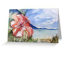 Tebiro Beach in Japan Greeting Card