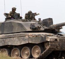 British Army Challenger 2 Main Battle Tank (MBT) Sticker