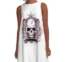 Queen of Death A-Line Dress