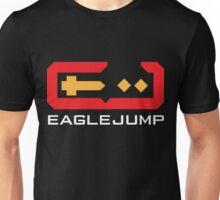 Eagle Jump - White Unisex T-Shirt