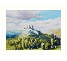 Cachtice Castle Art Print