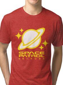Space Patrol Ogikubo - Yellow Tri-blend T-Shirt