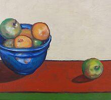 Apples at Jumpstart by joelkeyart