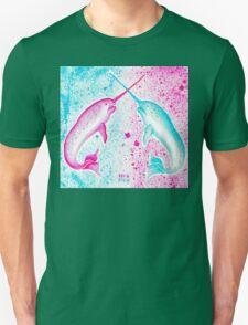 NARWHAL SPLATTER Unisex T-Shirt